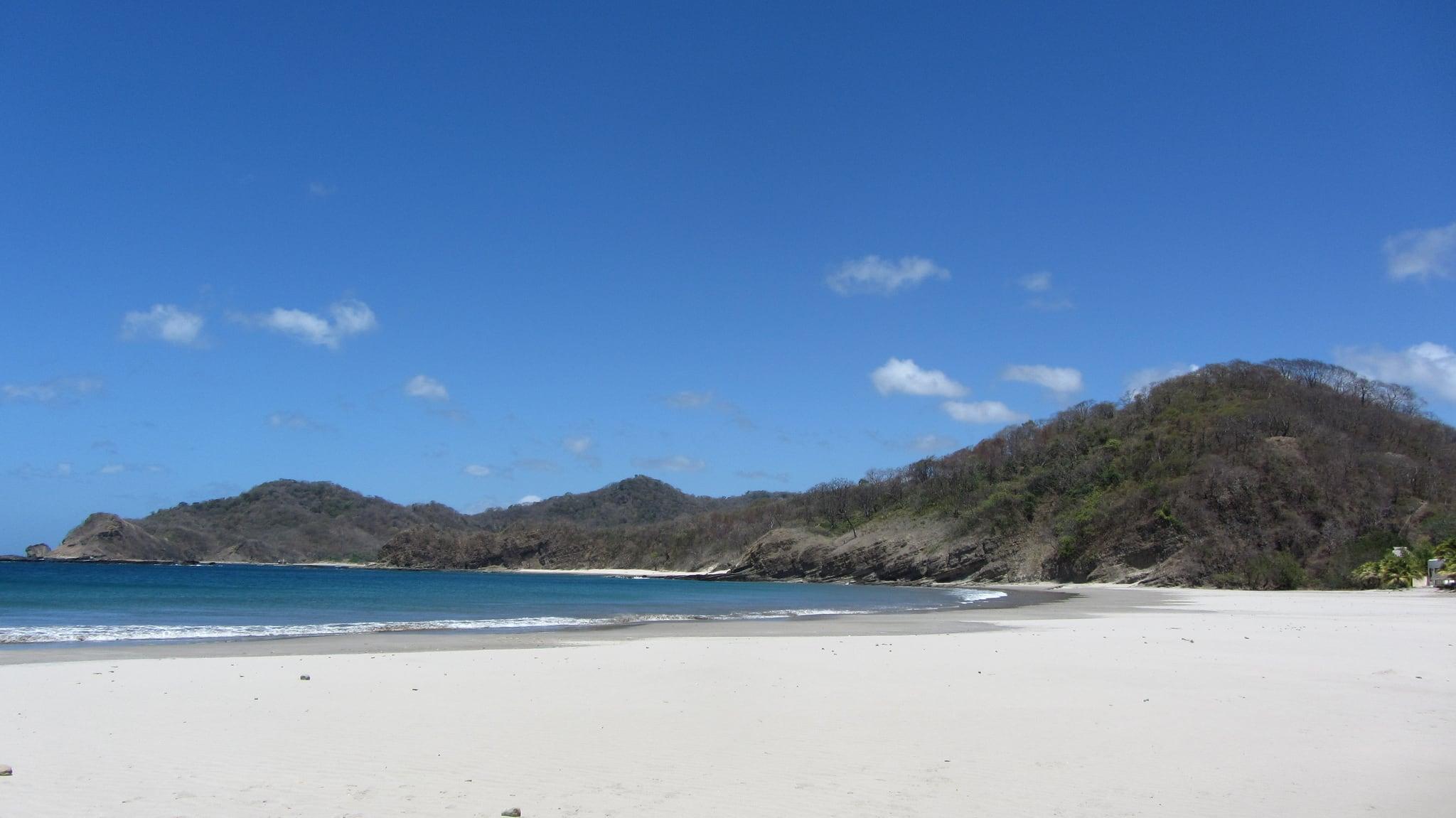 Playa Majagual Near San Juan Del Sur Nicaragua Water Temperature