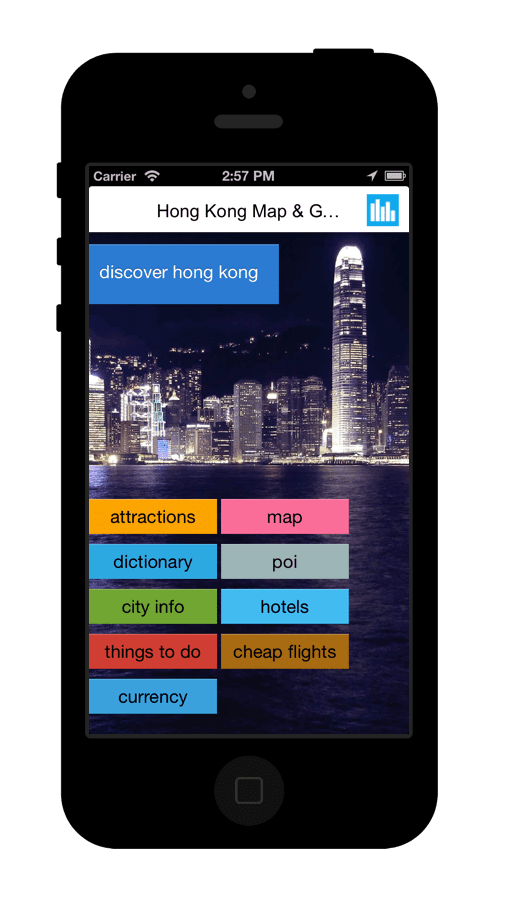 Offline Map and Guide Mobile App