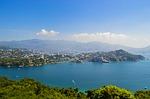 acapulco, beach, blue