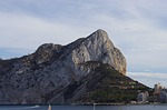 calpe rock, calpe, alicante