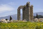 athens, temple, columns