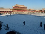 snow, forbidden, city