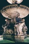 statue, fountain, budapest
