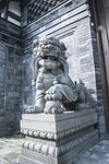 china, sculpture, chengdu