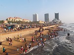 colombo, sri lanka, beach
