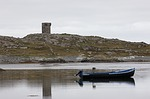 connemara, boat, ireland
