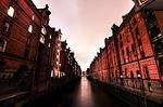 hamburg, canal, passage