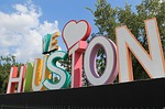 houston, we love houston, art