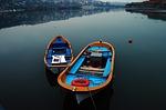 boat, blue, marine