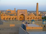 khiva, city, city view