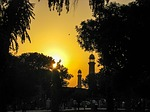 sunset, mosque, islam