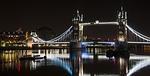 london bridge, night, london