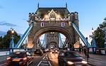 tower bridge, london, evening