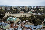 view of the city, lublin, tourism