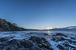 dawn, beach, guilche