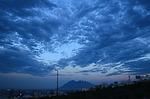 monterrey, clouds, sky