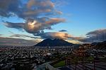monterrey, cloud, cerro