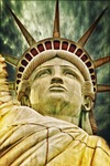 liberty statue, freiheits statue, new york