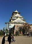 osaka castle, castle, japan