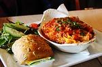 lasagne, lasagna, lunch