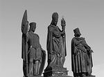 charles bridge, statues, prague