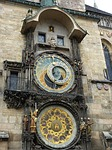 town hall, prague, clock