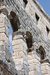 pula, ruin, amphitheater