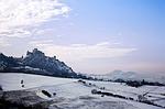 verucchio, snow, landscape