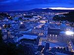 salzburg, night, austria