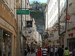 salzburg, austria, getreidegasse