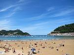 san sebastian, spain, beach