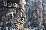 bayon temple, temple, travel