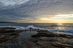coogee, ocean, shore