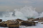 waves, splash, coogee