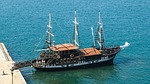 greece, thessaloniki, sailing vessel