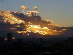sunset, tokyo, japan