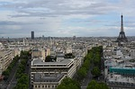 paris, city, panorama