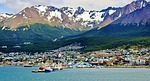 ushuaia, argentina, mountains snow