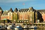 empress hotel, victoria, inner harbor