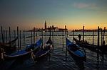 venice, gondolas, boats