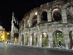 arena, verona, night