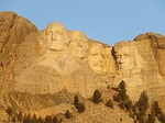 mount rushmore, monument, landmark