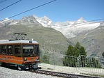 zermatt, switzerland, cog railway