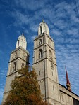 church, zurich, city