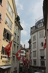zurich, switzerland, flag