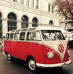 vw, bus, oldtimer