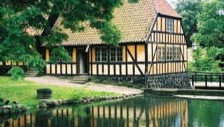 The Old Town, Aarhus, denmark , aarhus