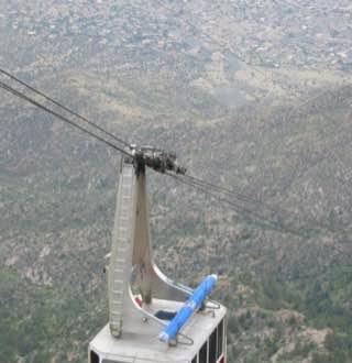Sandia Peak Tramway, usa , albuquerque