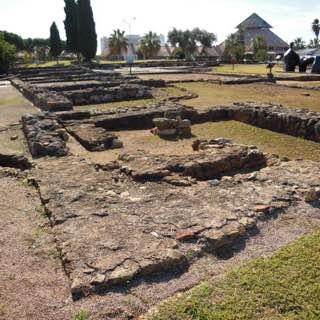 Roman ruins of Cerro da Vila, portugal , algarve