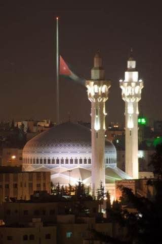 King Abdullah I Mosque, jordan , amman